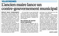 Parisien 5 novembre 2014- Vilecresnes Avenir